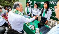 Destinan recursos para mejoramiento en escuelas de Guerrero