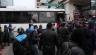 Miles de usuarios afectados por paro de transporte público en Nuevo León