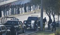 Arman operativo para evitar que campesinos salgan de zona de San Lázaro