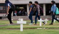 Estudiantes de la UNAM, recurrentes víctimas de violencia