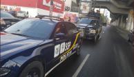 Intentan linchar a cuatro presuntos roba autos en Milpa Alta