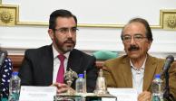 Jesús Orta comparece ante Congreso de la Ciudad de México