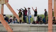 Indiferencia y empatía, los claroscuros que vive una caravana migrante
