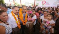 Gobernador Astudillo recorre la Montaña de Guerrero para entrega de apoyos y obras sociales