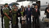 Llega a CDMX el presidente de Cuba Miguel Mario Díaz-Canel