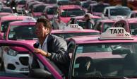 Taxistas anuncian nueva movilización para el próximo lunes