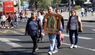 Más de 65 mil peregrinos visitan la Basílica de Guadalupe