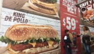 Burguer King venderá nueva hamburguesa vegana en Europa
