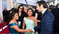 FOTOS: Yalitza llega al Oscar acompañada de su madre