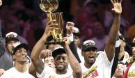 Raptors, campeón por primera vez en la historia de la NBA