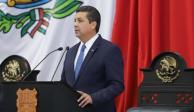 Gobernador de Tamaulipas destaca en Informe reducción de 30% de delitos
