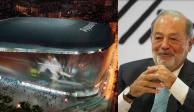 Empresa de Slim remodelará el estadio del Real Madrid