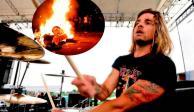 """""""Débiles y estúpidos"""": Will Hunt, de Evanescence, a quienes quemaron su batería"""
