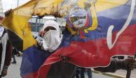 Decretan toque de queda parcial en Ecuador tras estallido social