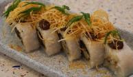 Sushi de romeritos, platillo para reinventar la Navidad (VIDEO)