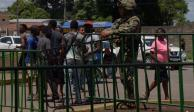 México busca evitar arancel con Guardia Nacional en frontera con Guatemala