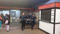 Fallan de nuevo escaleras eléctricas del Metro; hay 8 lesionados
