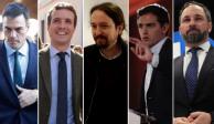 Candidatos españoles exhortan a no apoyar a extrema derecha