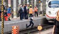 Hombre que aventó a niño a vías era buscado por violencia en Suiza