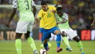 Brasil llega a cuatro juegos sin ganar tras empatar 1-1 con Nigeria