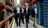 Inaugura Del Mazo nuevo Centro de Distribución de la empresa B. Braun