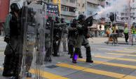 ONU pide a Hong Kong indagar represión policial contra manifestantes