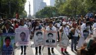 FOTOS Y VIDEO: Así se vivió la marcha a 5 años de la desaparición de los 43