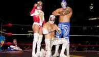 Carístico, Volador Jr. y Diamante Azul vencen a los Guerreros