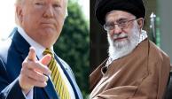 Trump firma orden para implementar nuevas sanciones en Irán