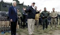 Amaga Trump con quitar 13.9 mmdd a fondo de desastres para su muro