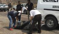 Localizan dos bolsas de plástico con restos humanos en Jalisco