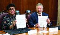 PGJ y SCJN acuerdan capacitar en DH a jueces y magistrados