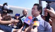 Cuestiona Mario Delgado avances y resultados de Fortaseg