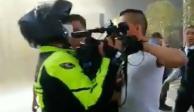Personal de Plaza Tepeyac agrede a reportero que cubría incendio