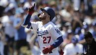 Alex Verdugo colabora con imparable en triunfo de Dodgers sobre Rojos