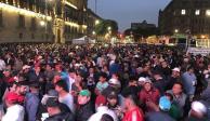Recicladores protestan contra privatización de basura en Zócalo