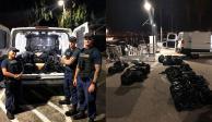 Encuentran flotando 590 kilos de mariguana en el océano en California