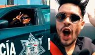 Youtuber se burla de policías federales, en su Ferrari a 280 km/h (VIDEO)
