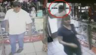 VIDEO: Sujeto golpea con un bate a una mujer para asaltarla