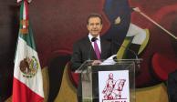 Esteban Moctezuma pide acciones con ética para un cambio cultural