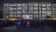 Cuarón cierra con éxito el #Romatón en la Plaza de las Tres Culturas