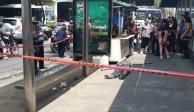 Asesinan a golpes a indigente en Tlalpan