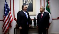 Funcionarios de EU finalizan encuentro con López Obrador