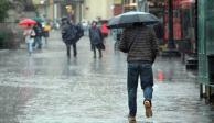 Este miércoles se esperan tormentas en 22 estados del país