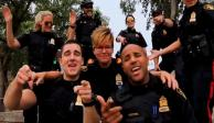 VIDEO: Policías de Canadá bailan y cantan a ritmo de los Backstreet Boys
