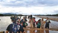Lluvias inesperadas causan desgracia en Sinaloa