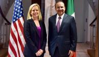 Acuerdan México y EU 5 acciones contra la trata, migración y delincuencia