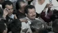 PGR libera video reservado del momento en que disparan contra Colosio