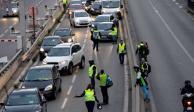 Francia: 1 muerto, 47 heridos en protesta por combustibles