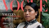 Yalitza hace historia en la revista Vogue